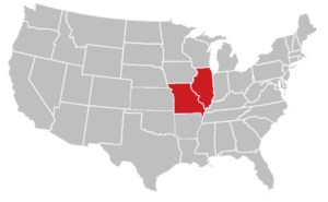 Mid America Services Map